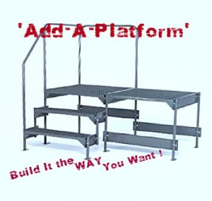 Work Platforms. Design Your Own. We can Galvanize These.
