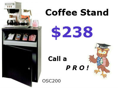 coffee station budget priced