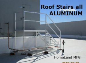 aluminum ladder stairway