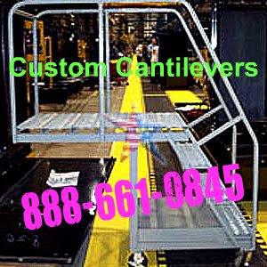 Custom Cantilever Rolling Platform