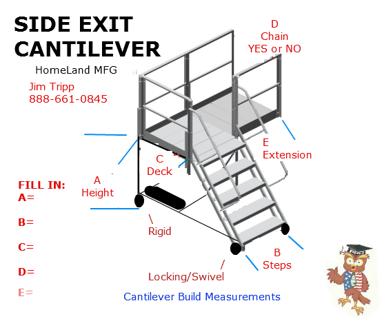 Custom Ladder measurements