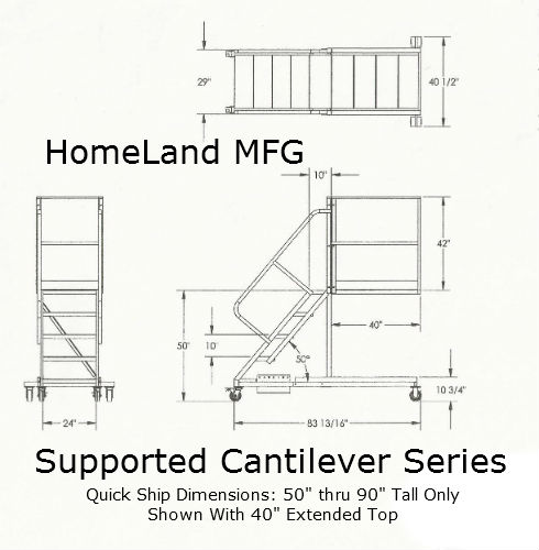Cantilever Supported Drawing