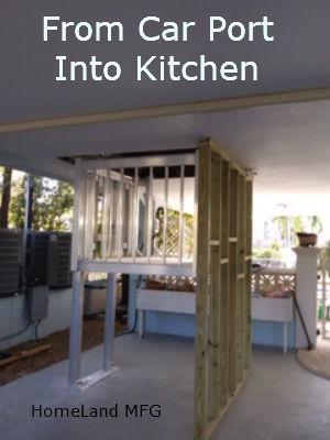 Cargo Lift from Garage to Kitchen