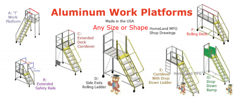 custom ladders OSHA safety compliant