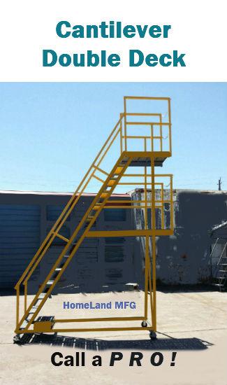 Industrial Rolling Ladder