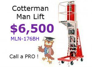 mln176bh maxi man lift