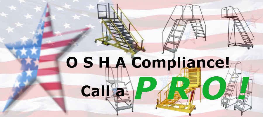 OSHA Rolling Ladder