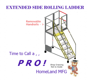 custom Industrial ladder
