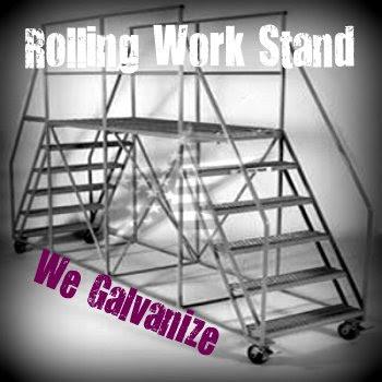 Aircraft Maintenance Platform galvanized