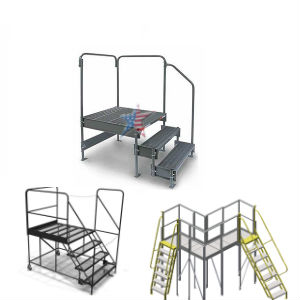 welded work platform custom sizes