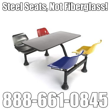 OFM 1004 Cafeteria Tables all Steel Construction