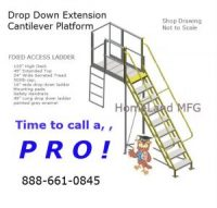 ladder drop down extension
