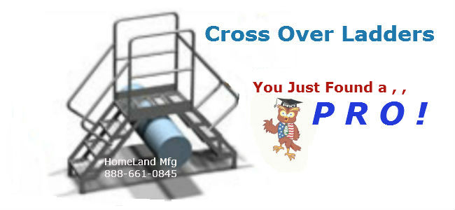 cross-over-ladder