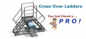 cross over ladder