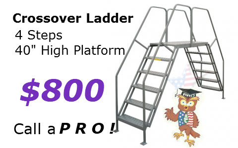 Double Entry Platform *ANY Width / Length*
