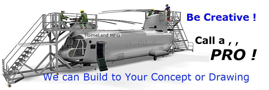helicopter maintenance platform
