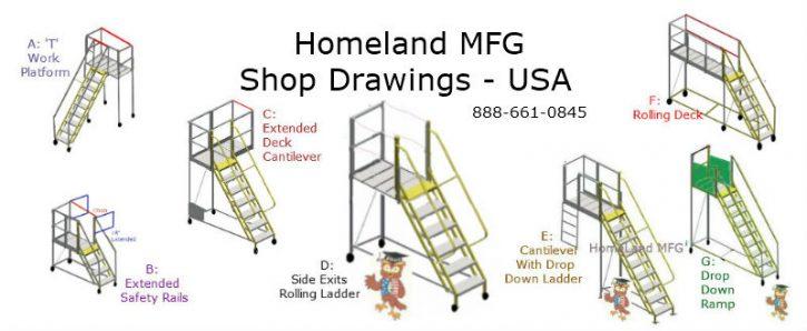 Rolling Ladders 7 designs