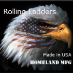 rolling ladders made in the USA
