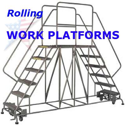 rolling work platforms