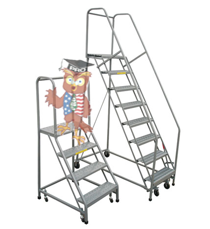 rollingPro-steel-ladder