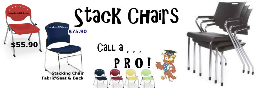 stacking chairs aluminum frame