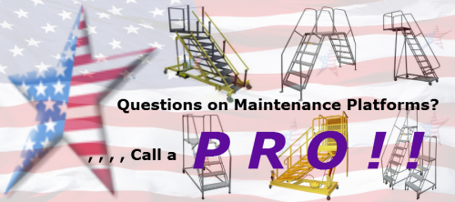 tri-arc ladder maintenance platforms