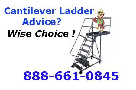warehouse rolling ladder