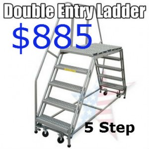 mobile work platforms cross over ladder
