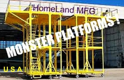 custom aircraft maintenance platform